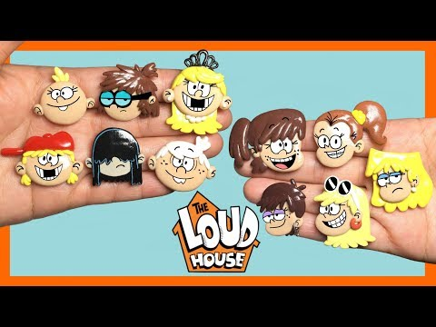 THE LOUD HOUSE! Stop Motion Polymer Clay Tutorial