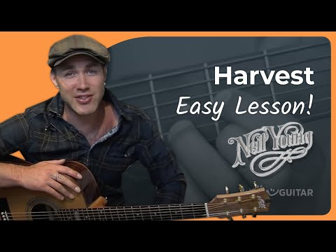 Harvest - Neil Young (Songs Guitar Lesson ST-902) How to play
