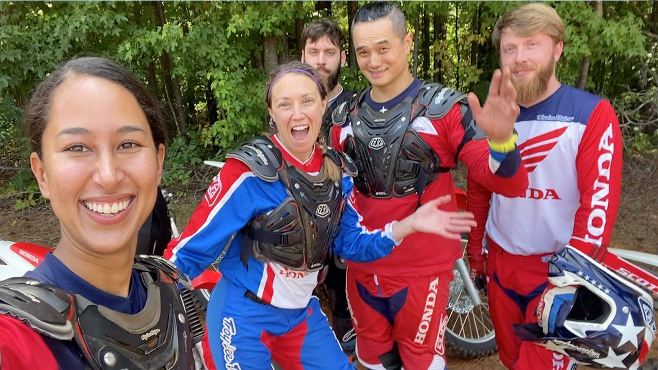 First time riding the trails… on the TALLEST bike I've ever ridden!