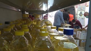 60 voluntarios participan en la primera recogida del Banco de Alimentos de Colmenar