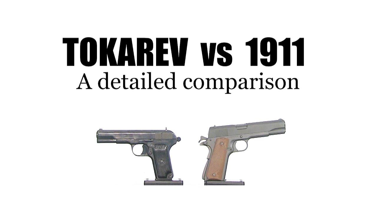 Romanian Tokarev vs 1911 - Very similar firearms