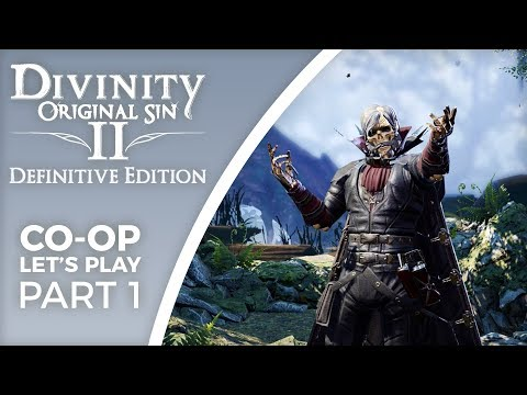 Let's Play Divinity: Original Sin 2 - Definitive Edition - Part 1 - Two lone wolves, tactician mode!