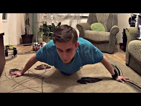 Как накачать Широчайшие мышцы Спины ДОМА (Как накачать спину)