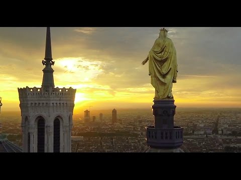 Exceptional pictures of Lyon (France) filmed using a drone