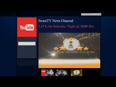 Swazi-TV Will Be Broadcasting Live The National Sports Awards 2017