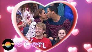 """10 niezręcznych sytuacji podczas """"kiss cam"""" na stadionach"""