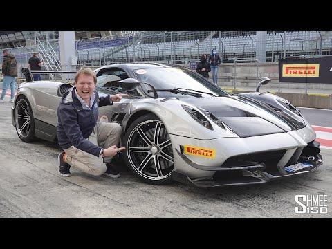 Flat Out in the PAGANI HUAYRA BC on Track!