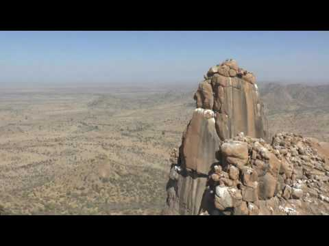 Climbing in Chad - Africa