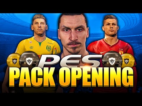 PES PACK OPENING!