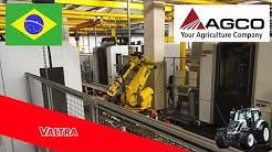 Fabrica de Tractores Valtra en Mogi Das Cruzes, Brasil, la más grande de Brasil.