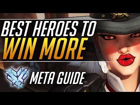 TOP WINRATE Heroes in Ranked | Season 14 WINNERS - Overwatch Gameplay Guide