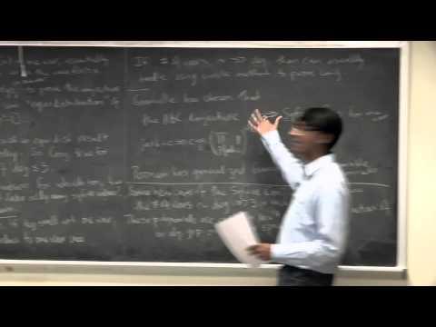 UCLA Math Distinguished Lecture Series: Manjul Bhargava, May 21, 2015