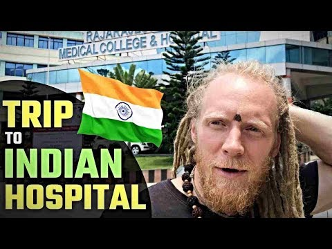BROKEN FOOT IN INDIA?! 🧐 ..My Trip To An Indian Hospital!