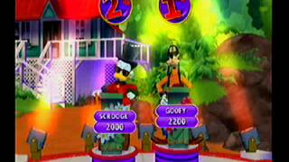 Disney Think Fast Wii 2 Player Friendly Match Part 1