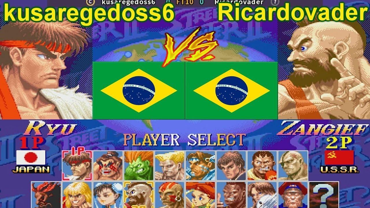 Super Street Fighter II Turbo - New Legacy [Hack] - kusaregedoss6 vs Ricardovader FT10
