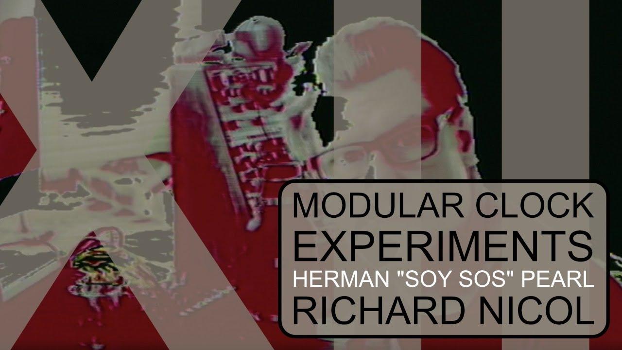Modular Clock Experiment 12 Live Performance