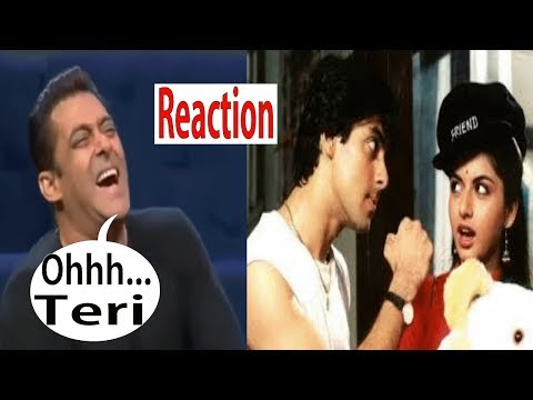 salman-khan-reaction-on-old-memories- -dil-deewana- -maine-pyaar-kiya