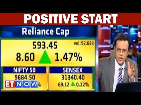 Sensex, Nifty50 Start On A Positive Note