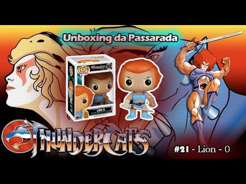 Unboxing da Passarada #21 - Thundercats - Lion-0