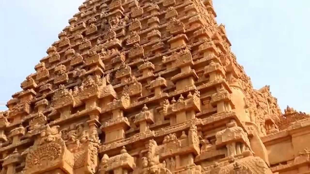 Brihadeeswarar temple at thanjavur of tamil nadu youtube malvernweather Image collections