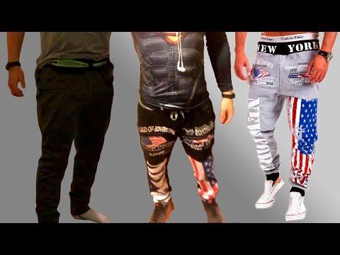 4 спортивных штанов с Алиэкспресс