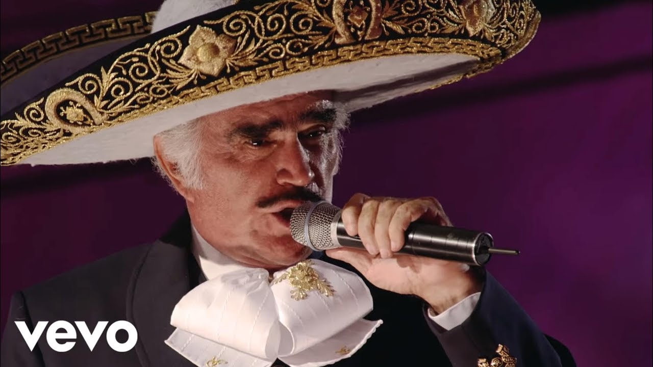 Vicente Fernández Motivos En Vivo Youtube