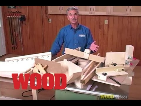 12 Great Tablesaw Jigs with Jim Heavey - WOOD magazine