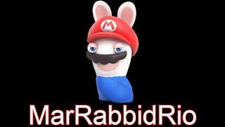 Hamburger Meme but its Rabbid Mario