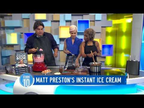 Matt Preston's Instant Ice Cream Recipe | Studio 10