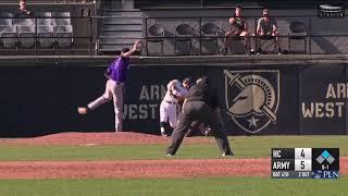 Recap: Army Baseball vs. Holy Cross 4-17-19