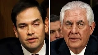 Marco Rubio Tries To Get Rex Tillerson To Say Putin Murders Dissidents