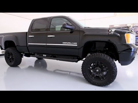 2013 GMC Sierra 2500HD Denali with Custom Lift, Lewisvilleautoplex.com, Used Cars Dallas