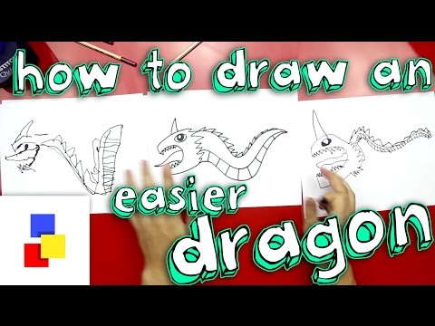 How To Draw A Dragon (For Super Young Artists)