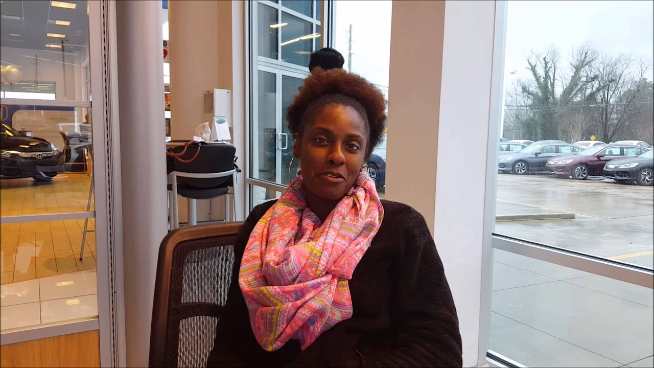 video testimonial chiquita brock loves her 2015 accord. Black Bedroom Furniture Sets. Home Design Ideas