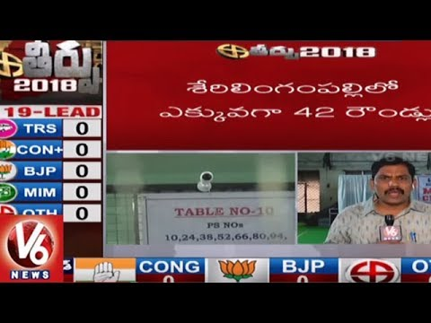 Counting Begins For Telangana Assembly Elections 2018 | TS Results | V6 News