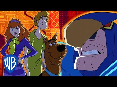 Scooby-Doo! | The Gang Meets Blue Falcon & Dynomutt | WB Kids
