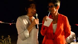 LILY TOMLIN and KATE CLINTON @ CROWN & ANCHOR...PROVINCETOWN, MA...JULY 25, 2013.