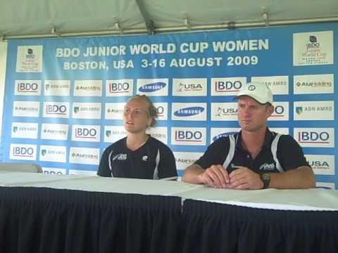 BDO Junior Women's World Cup 2009--NZL