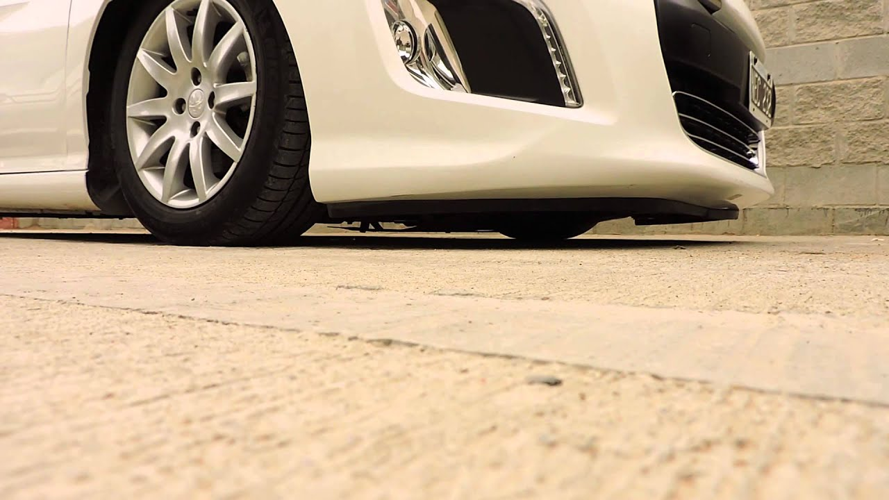 suspension neumatica big bass audiocar peugeot 308 ! - youtube