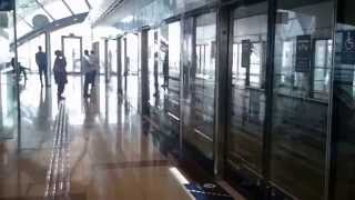 Dubai Metro Train In 2014