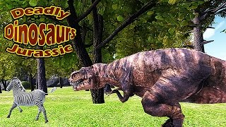Deadly Dinosaur Jurassic T-Rex - Gameplay Android