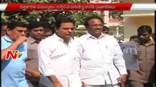 KTR Focuses on Development of Hyderabad After GHMC Elections   Meeting With Municipal Officials