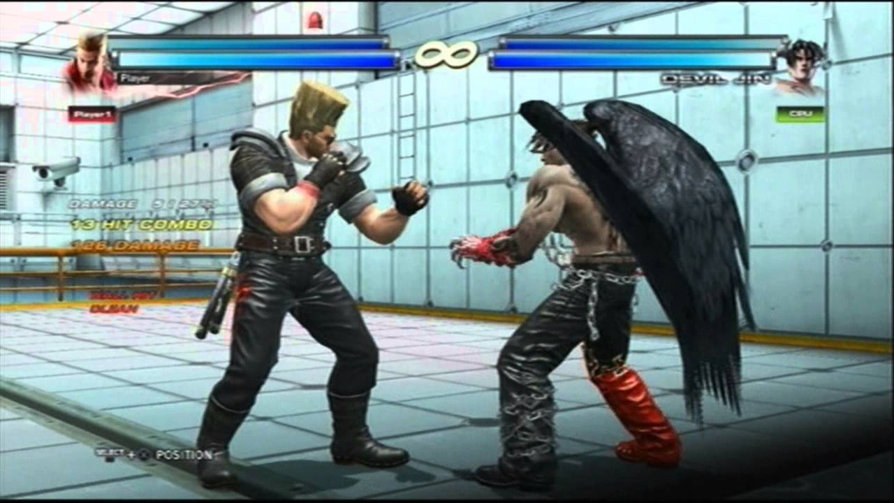Tekken Tag 2 Marshall Law Forest Paul Combo Act Youtube