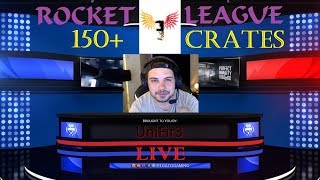 Rocket League   150+ CRATE OPENING   Playstation 4   LIVE Stream   GiveAway Soon!!!
