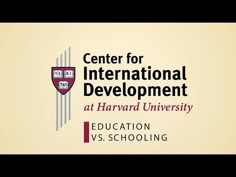 Education vs Schooling
