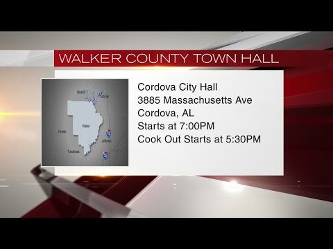 Walker County Town Hall meeting