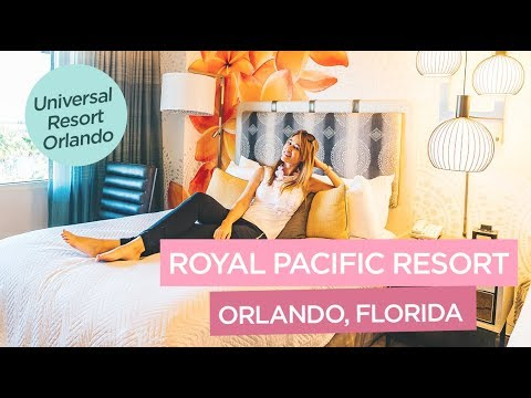 Loews Royal Pacific Resort at Universal Orlando Resort - Perfect Hotel for Universal Theme Parks!