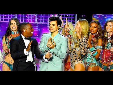 Modelo Cae en Victoria's Secret Fashion Show y Harry Styles Canta Entre Exes