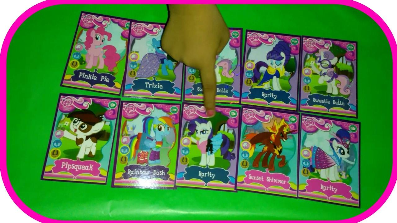 Kuda Pony Kartu My Little Pony Mainan Anak Kartu Kuda Pony