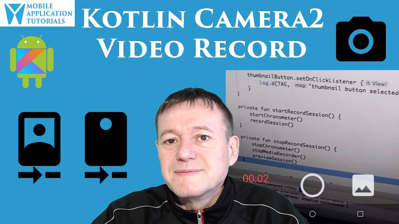 Kotlin Camera2 API Rear Video Capture